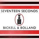 Seventeen Seconds Book Cover by mightymiked
