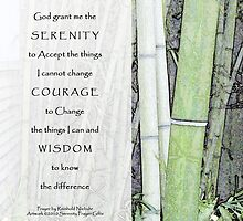 Serenity Prayer Bamboo by serenitygifts