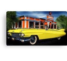 59 Cadillac Eldorado Biarritz Canvas Print