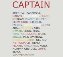 Captain... by The13Cosmos