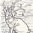 jackalope! by resonanteye