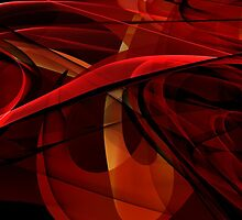 flowing dark reds by MannyD-3D