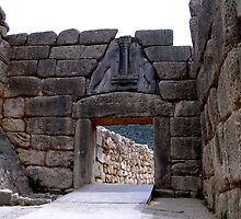 Lion Gate of Mycenae by dellal