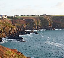 Housel Bay, Lizard Peninsula by photoeverywhere