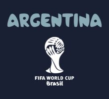 Argentina WC 2014 Brazil by refreshdesign