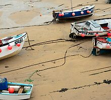 Fishing boats, St Ives, Cornwall by photoeverywhere