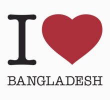 I ♥ BANGLADESH by eyesblau