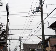 japanese power lines by photoeverywhere
