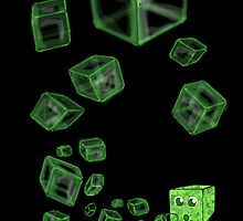 Creeper Bubbles by Cocoflame