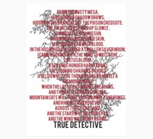 True Detective Song by eriettataf
