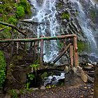 Cascade Waterfall in Banos-Ambato, Ecuador by Al Bourassa