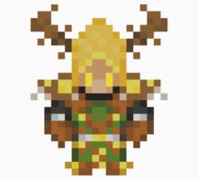 World of Warcraft Druid Tier 2 Stormrage Sprite by whale
