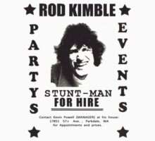 Hot Rod - Rod Kimble FOR HIRE by HalfFullBottle