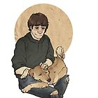Sammy and puppy by yourebossy