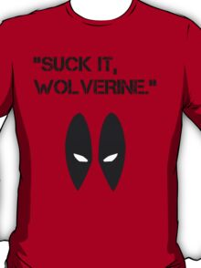 Suck It Wolverine T-Shirt