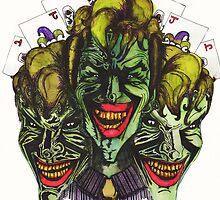 Joker illustration by MADinks