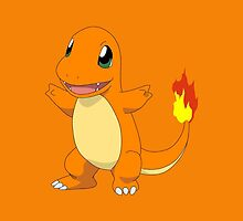 Charmander by Vaughn  Pasini