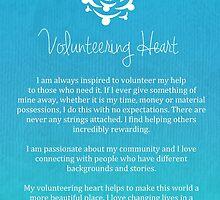 Affirmation - Volunteering Heart by CarlyMarie