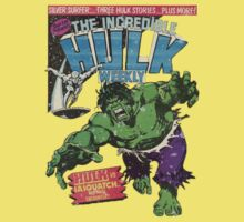 Vintage Incredible Hulk Weekly by realsuperhero