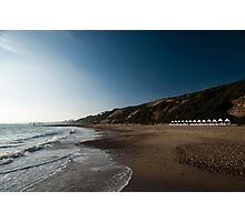 Bournemouth Beach Huts Photographic Print