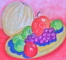 Neon Still Life by Christine Chase Cooper