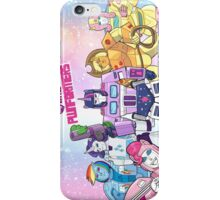 My Little Pwnformers Group iPhone Case/Skin