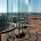 Curved Glass Wall. by Janone