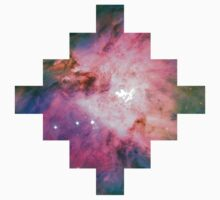 Orion Nebula [Pink Clouds] Stickers and Shirts by SirDouglasFresh