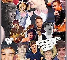 Liam Payne Tumblr collage case by lamekat