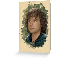 Pippin of the Fellowship Greeting Card