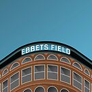 Minimalist Ebbets Field - Brooklyn, NY (no text) by pootpoot