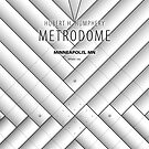Minimalist Metrodome - Minneapolis, MN by pootpoot