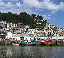 Looe Harbour. by Antony R James