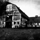 Old barn in Rural MA by ShellyKay