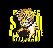 Chibi Sanji by hardsign