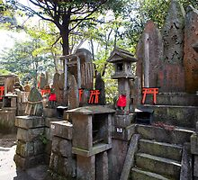 kitsune temple altars by photoeverywhere