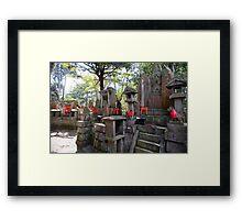 kitsune temple altars Framed Print
