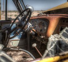 The Old Water Truck by Randy Turnbow