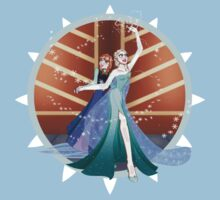 Anna and Elsa by Lunaria91