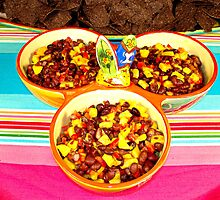 Mango and Black Bean Salsa by Robert Meyers-Lussier