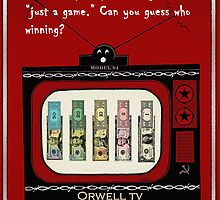 Orwell TV Funny Money  by wildwildwest