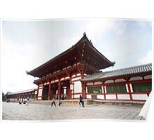 Todai-ji Temple Gate Poster