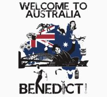 Welcome To Australia Benedict! by hiddlestonr