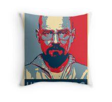 Walter White a.k.a. Heisenberg Throw Pillow