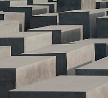 Memorial To The Murdered Jews Of Europe, Berlin by photoeverywhere