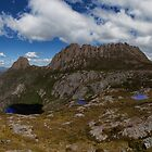 Cradle Mountain and Lake Wilks Panorama by Garth Smith