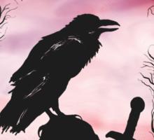 The Raven  Sticker