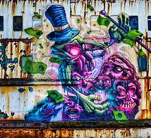 Sea Monster Art by Ian Mitchell