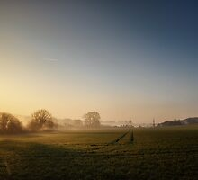 Salisbury Dawn by Tobias King