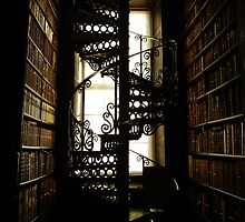 Library Staircase by MadeleineKyger